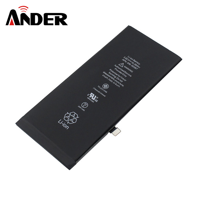 Large Capacity 2691mAh Li-ion Mobile Phone Iphone 8 Plus Battery