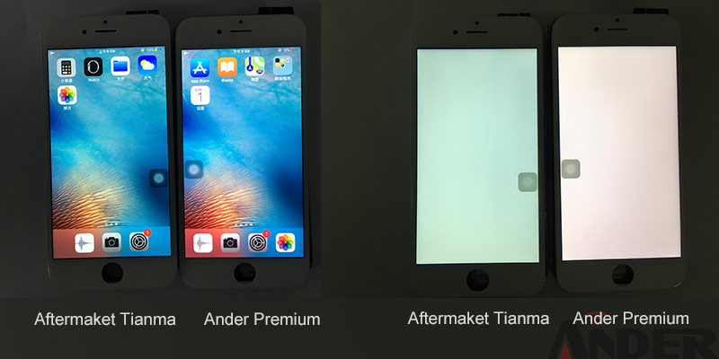 Latest premium LCD for iPhone